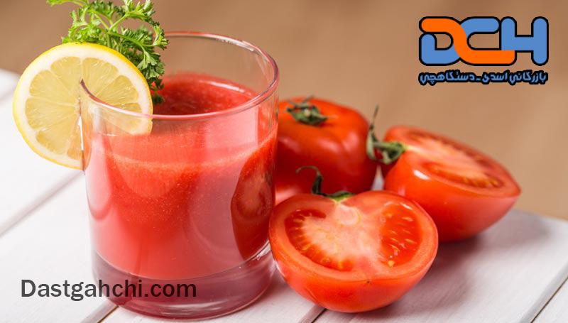 آب گوجه خالص